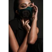 Jkusno x TORENDA fashion designer Mask Green
