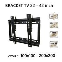 Wall Bracket TV Aquila 22 Tilt TV LED 22 24 27 32 37 42 in Vesa 200