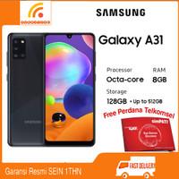 Samsung Galaxy A31 Ram 8/128GB Garansi Resmi SEIN - Hitam