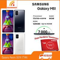 SAMSUNG Galaxy M51 Ram 8/128GB Garansi Resmi SEIN - Putih