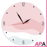 Jam Dinding Unik Pink Aestetik Dekorasi Rumah Aesthetic Lucu - Pinklis