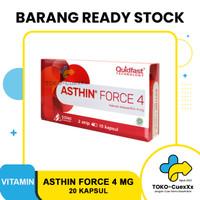 ASTHIN FORCE 4 MG - DAYA TAHAN TUBUH (1 BOX = 2 STRIP @ 10 KAPSUL)
