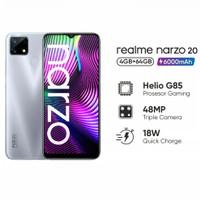 Realme narzo 20 4/64 garansi resmi