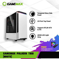 GAMEMAX Casing CPU PALADIN T802 GAMING Case with Fan RGB