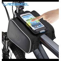 Roswheel Tas Sepeda MTB Waterproof + Holder Case Smartphone PREMIUM