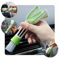 Sikat Mini Cleaner Pembersih Kisi Interior Sela AC Ventilator Mobil PC
