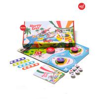 Mainan Anak : Board Game Happy Day Afrakids