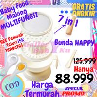 7 in 1 Peralatan Tempat Makan Pembuat Mpasi Bayi Baby Food Making Set