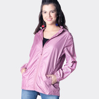 Jaket Wanita / Adenium Pink Jacket 34331D8PK - Ninety Degrees