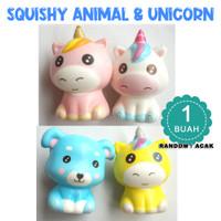 Squishy murah cute Binatang dan Unicorn - SQUISHY ANIMAL AND UNICORN