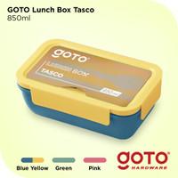 Goto Tasco Kotak Tempat Makan Lunch Box Set Free Sendok Garpu