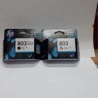 Tinta HP 803 Black & HP 803 Color Original (paketan)