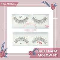 AIGLOW M1 Bulu Mata Palsu Fake Eyelashes Eyelash Bulumata Handmade