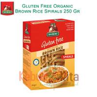 San Remo Gluten Free Organic Brown Rice Spirals 250gr