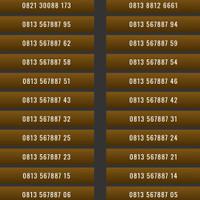 Nomor Cantik Kartu Perdana Telkomsel Simpati 4G Nomer Cantik Simpati