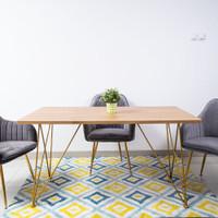 WEIMAR DINING TABLE - MEJA MAKAN - MINIMALIS MDF