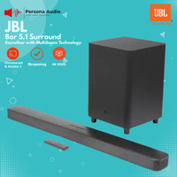 JBL Bar 5.1 Surround Soundbar with Multibeam Sound Technology