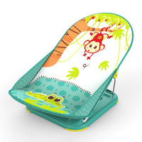 Baby Bather Mastela Deluxe - Green Jungle