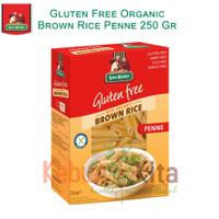 San Remo Gluten Free Organic Brown Rice Penne 250gr