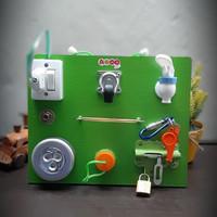 Busy Board Mainan Edukasi Anak Papan Permainan