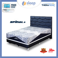 SC Therapedic Spinal R - Bed Set