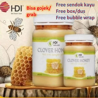 Madu HDI Clover Honey 500g Baru Asli Original