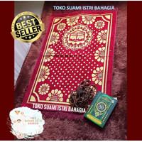 Sajadah Turki Izmir Large Beludru Bulu Timbul Halus 70 x110 Cm Premium