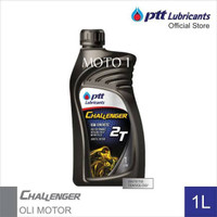 OLI SAMPING PTT LUBRICANTS CHALENGER 2T / MADE IN THAILAND