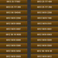 Nomor Cantik Kartu Perdana Telkomsel Simpati