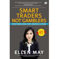 BUKU BISNIS / SMART TRADERS NOT GAMBLERS + CD, ELLEN MAY - COVER BARU