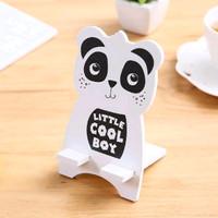 Stand atau penyangga hp smartphone karakter lucu berkualitas murah - Panda