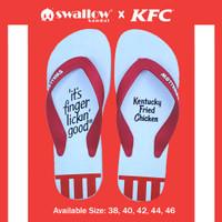 SANDAL SWALLOW X KFC TYPE GOOD - PUTIH