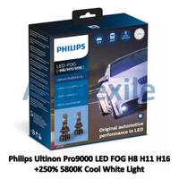 Philips Ultinon Pro9000 LED FOG H8 H11 H16 Putih Xtreme Gen3 Lampu Car