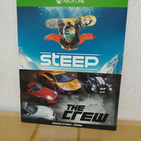 XBOX ONE STEEP + THE CREW DIGITAL CODE DOWNLOAD