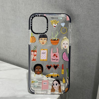 Case iPhone 12, 12 Pro, 12 Pro Max (Girls Transparant)