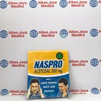 Naspro Isi 4tab - Obat Sakit Kepala / Demam / Sakit Gigi