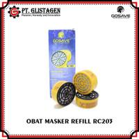 Obat Masker RC203 Refill Catridge Chemical Respirator RC203 NP305