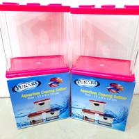 Aquarium plastik cupang soliter lego YUKARI