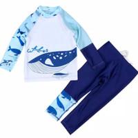 Baju Renang Anak Laki Lengan Panjang & Celana Panjang Shark -4 - 4