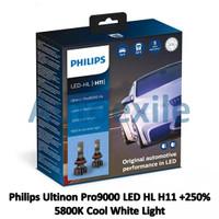 Philips Ultinon Pro9000 LED HL H11 Cool White Putih Gen3 Lampu Mobil