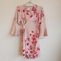 Baju Dress Kimono Wanita / Women Cantik Pretty Bunga Bunga Outerwear