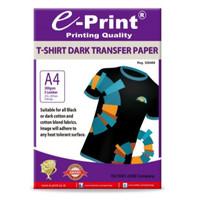 Kertas Foto e-Print Dark T-Shirt Transfer paper