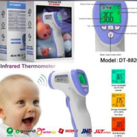 Termometer infrared digital thermometer tes suhu badan DT8826