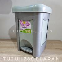 Tempat Sampah Plastik Injak 6L SL/ Tempat Sampah Model Injak 6 liter