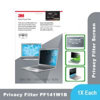 "3M Anti Spy Laptop Notebook Privacy Filter Screen 14.1"" PF141W1B"