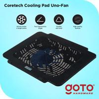 Coretech Unofan Cooling Pad Kipas Fan Pendingin Laptop Portable