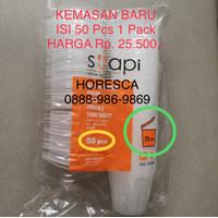 Tempat Saos Plastik 75 ML/Cup Sambal/Sauce Container Suapi @45 Pcs