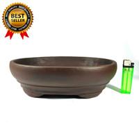 Pot Untuk Bonsai Medium Small Large Sukulen Model Oval Murah