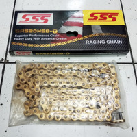 Rantai SSS 520 110 HSBT Gold Ninja 250 / Tiger