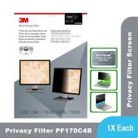 "3M Anti Spy Monitor LCD LED Privacy Filter Screen 17"" PF170C4B"